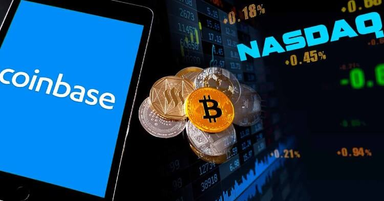 Acciones de Coinbase llegaron a Nasdaq con precio de referencia de 250 dólares