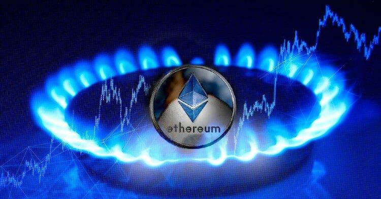 Mientras precio de ETH se mantiene en un rango de $2.800 tarifas de gas llegan a su nivel más bajo