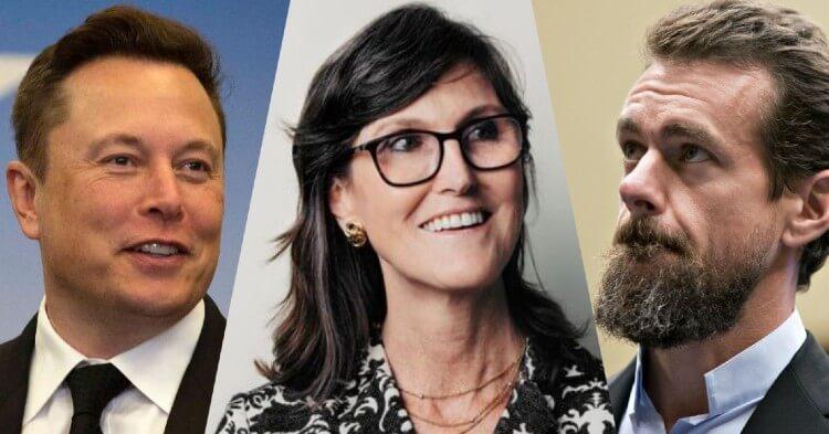 """Estos fueron los comentarios más relevantes de Elon Musk, Jack Dorsey y Cathie Wood en """"The B Word"""""""